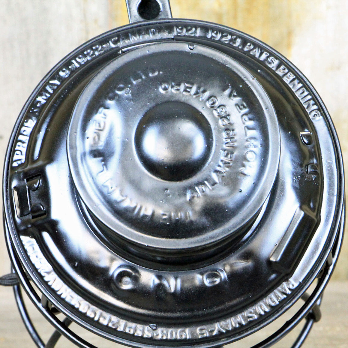 CNR Railroad Lantern Black 1920's No. 508 - The Lighting Works
