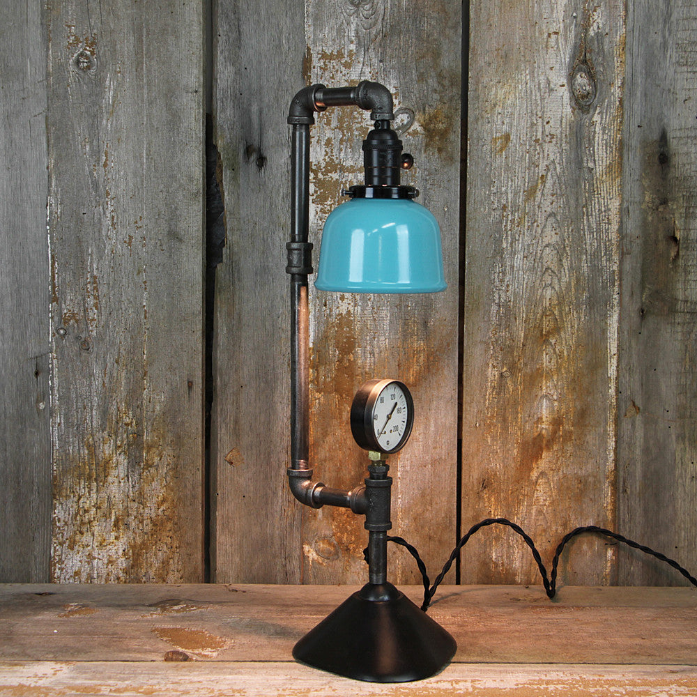 Industrial Table Lamp with Contemporary Retro Style #36 - The Lighting Works