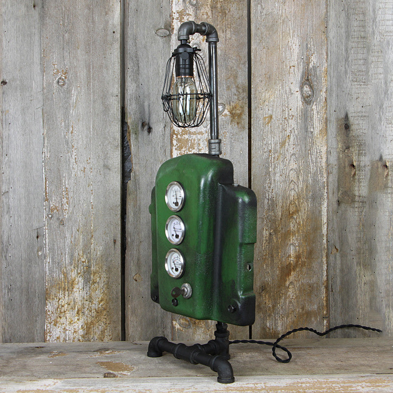 Ultimate John Deere Lover's Industrial Table Lamp #38 - The Lighting Works
