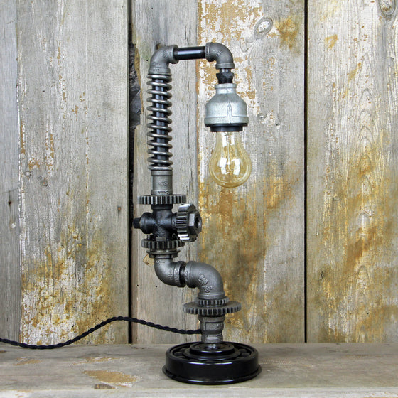 Industrial Table Lamp - Steampunk Desk Lamp #88