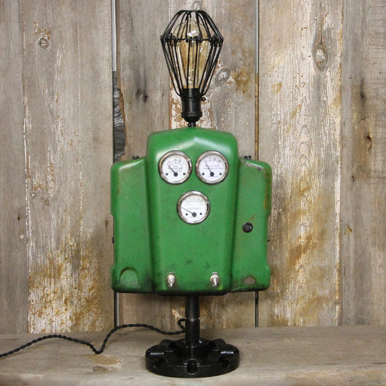 Vintage John Deere Lover's Industrial Table Lamp #38a