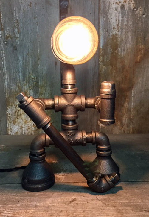 Hockey Industrial Table Lamp - The Lighting Works
