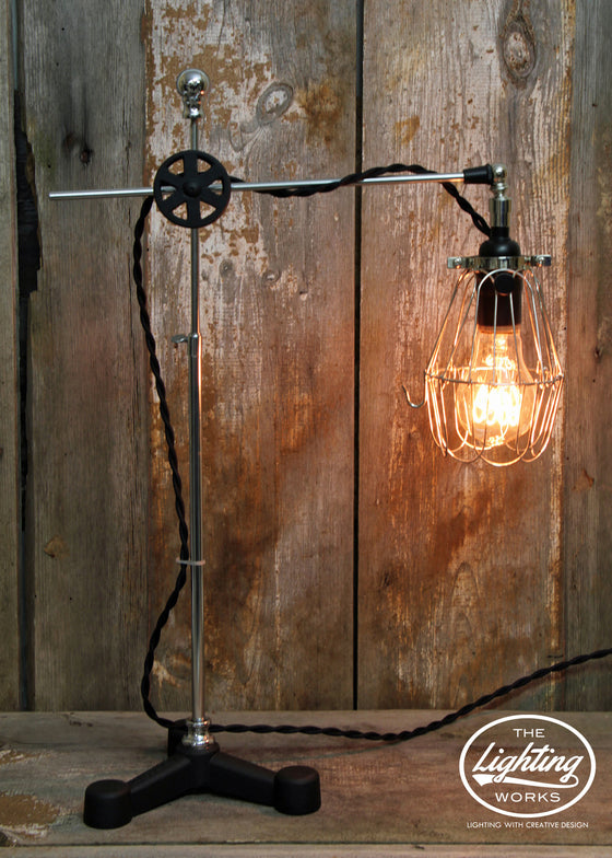Steampunk Industrial Lamp - The Lighting Works
