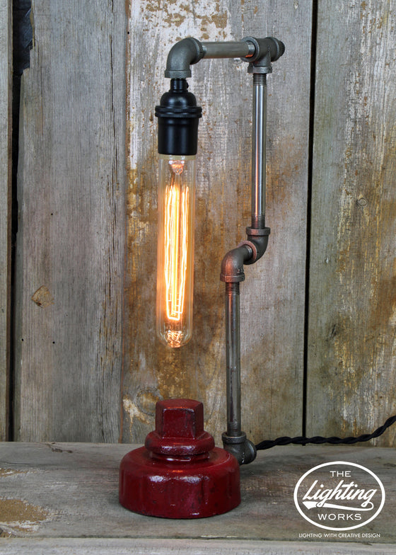 Steampunk Fire Hydrant Table Lamp - The Lighting Works