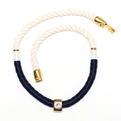 Belmont - Ivory/Navy/White/Gold