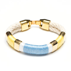 Newbury - Ivory/Yellow/White/Blue/Gold