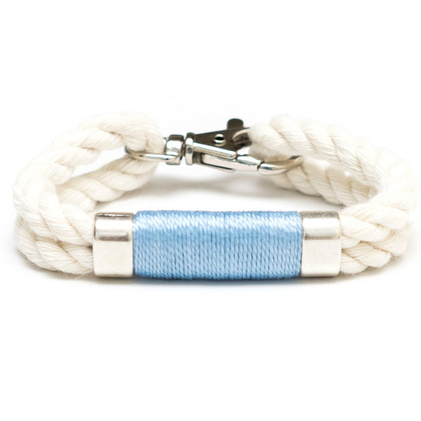 Tremont - Ivory/Light Blue/Silver