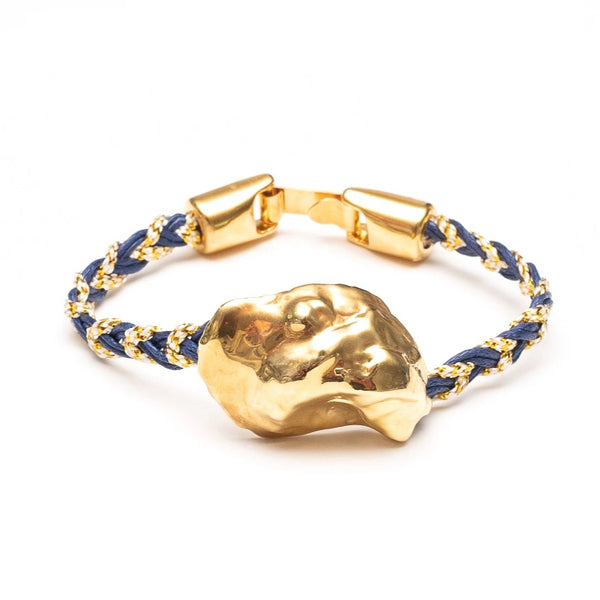 Allison Cole + Sea Dipped Special Edition Oyster Bracelet - Navy