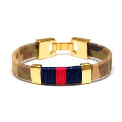 Bristol - Camo/Navy/Red/Gold