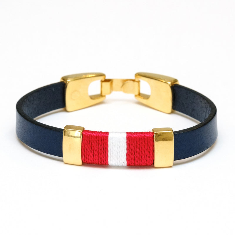 Bristol - Navy/Red/White/Gold