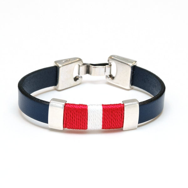Bristol - Navy/Red/White/Silver