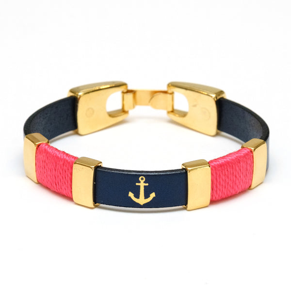 Chatham - Navy/Coral/Gold
