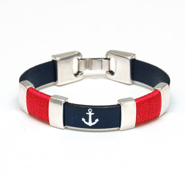 Chatham - Navy/Red/Silver