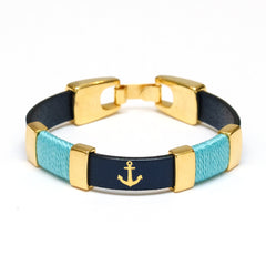 Chatham - Navy/Turquoise/Gold