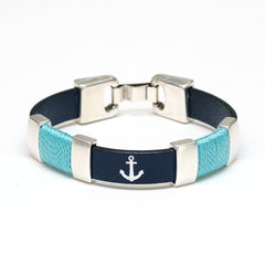 Chatham - Navy/Turquoise/Silver
