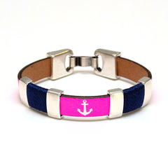 Chatham - Neon Pink/Navy/Silver
