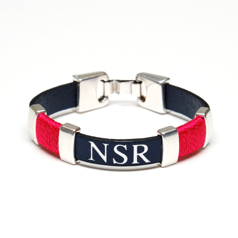 Essex - Navy/Red/Silver