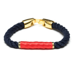 Beacon - Navy/Coral/Gold