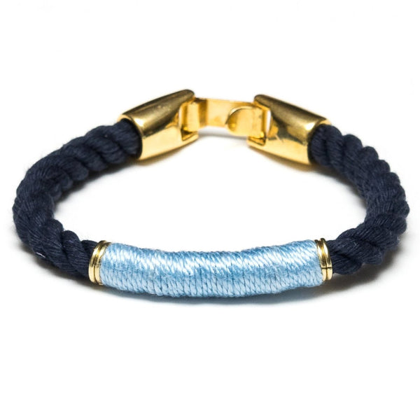 Beacon - Navy/Light Blue/Gold
