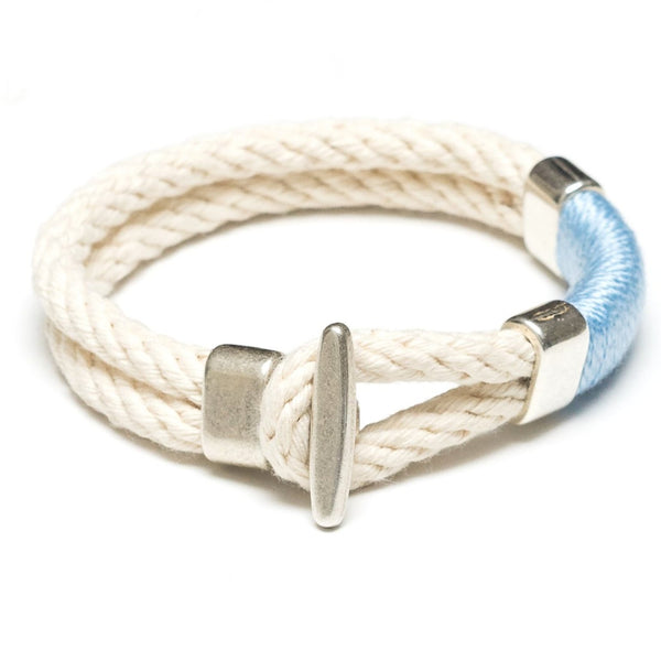 Cambridge - Ivory/Light Blue/Silver