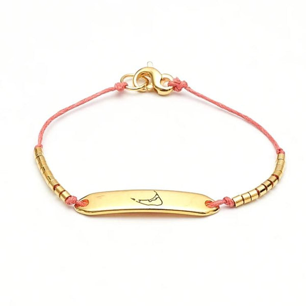 Chappie - Nantucket - Coral/Gold