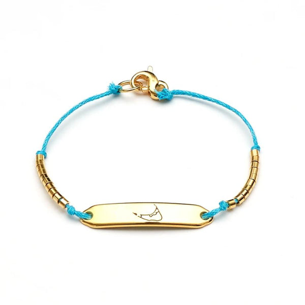 Chappie - Nantucket - Teal/Gold