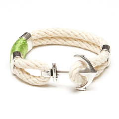 Waverly - Ivory/Lime/Silver
