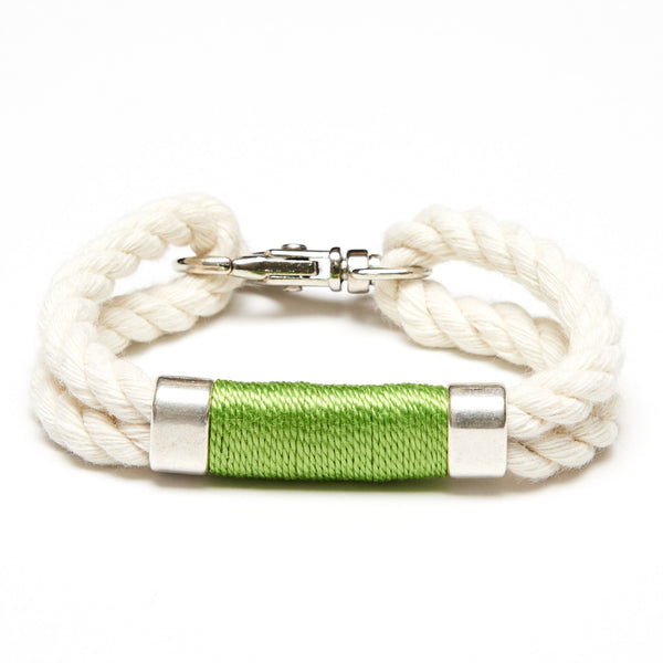 Tremont - Ivory/Lime/Silver