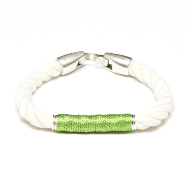 Beacon - Ivory/Lime/Silver