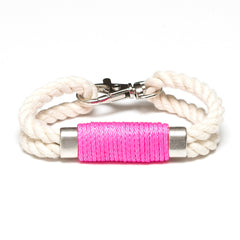 Tremont - Ivory/Neon Pink/Silver