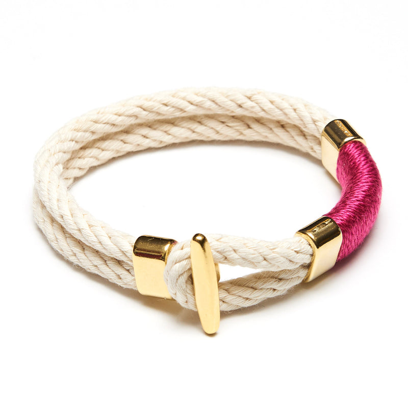 Cambridge - Ivory/Pink/Gold