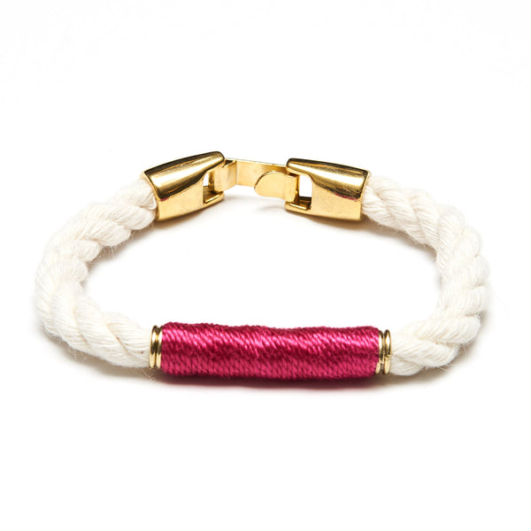 Beacon - Ivory/Pink/Gold