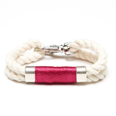 Tremont - Ivory/Pink/Silver