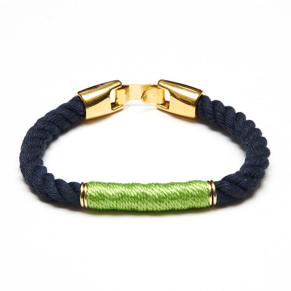 Beacon - Navy/Lime/Gold