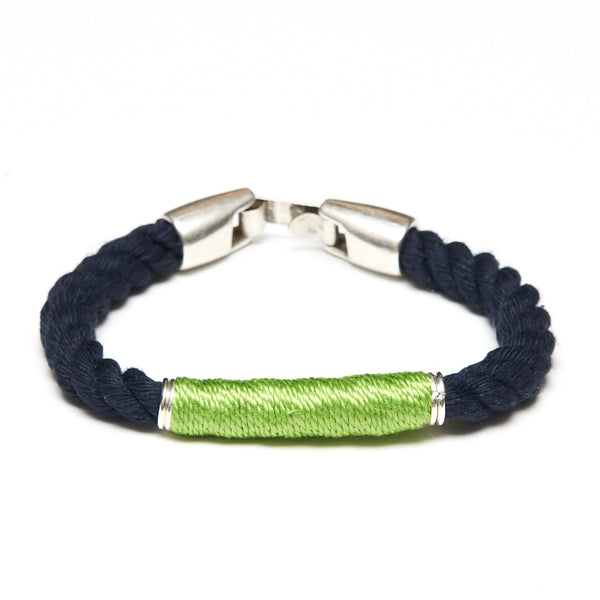 Beacon - Navy/Lime/Silver