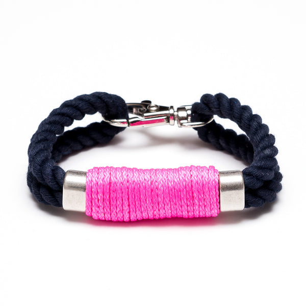Tremont - Navy/Neon Pink/Silver