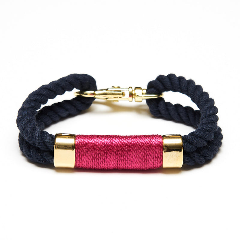 Tremont - Navy/Pink/Gold
