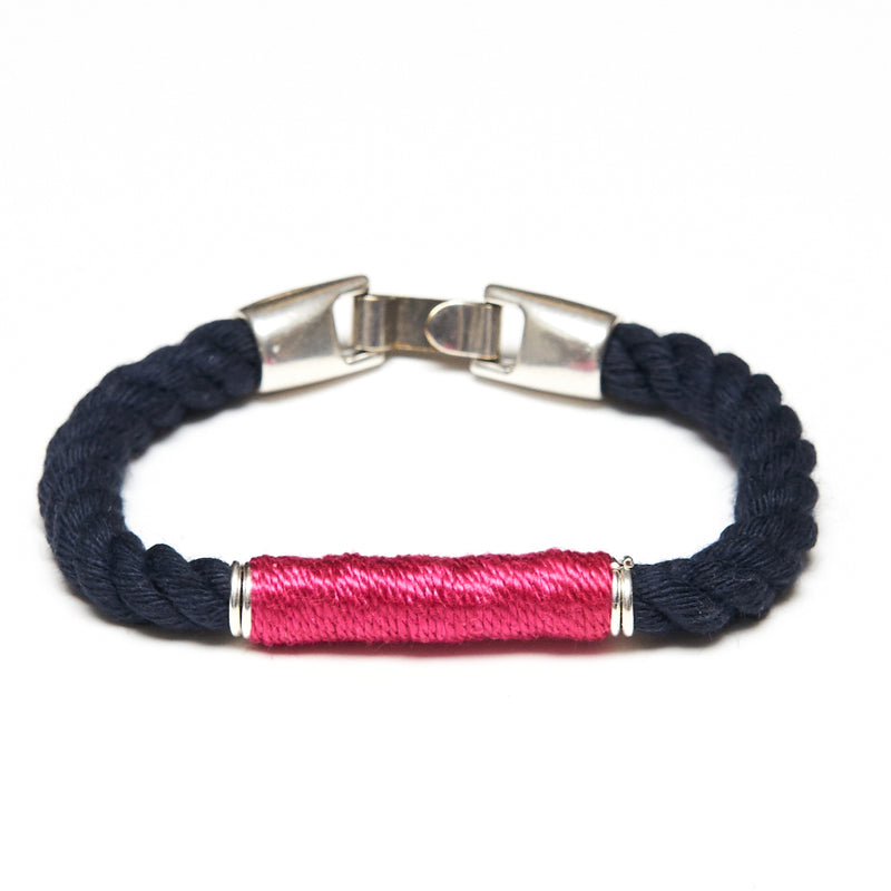 Beacon - Navy/Pink/Silver