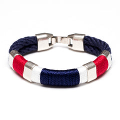 Newbury - Navy/Red/White/Navy/Silver
