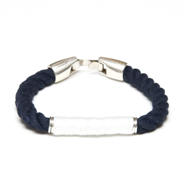 Beacon - Navy/White/Silver
