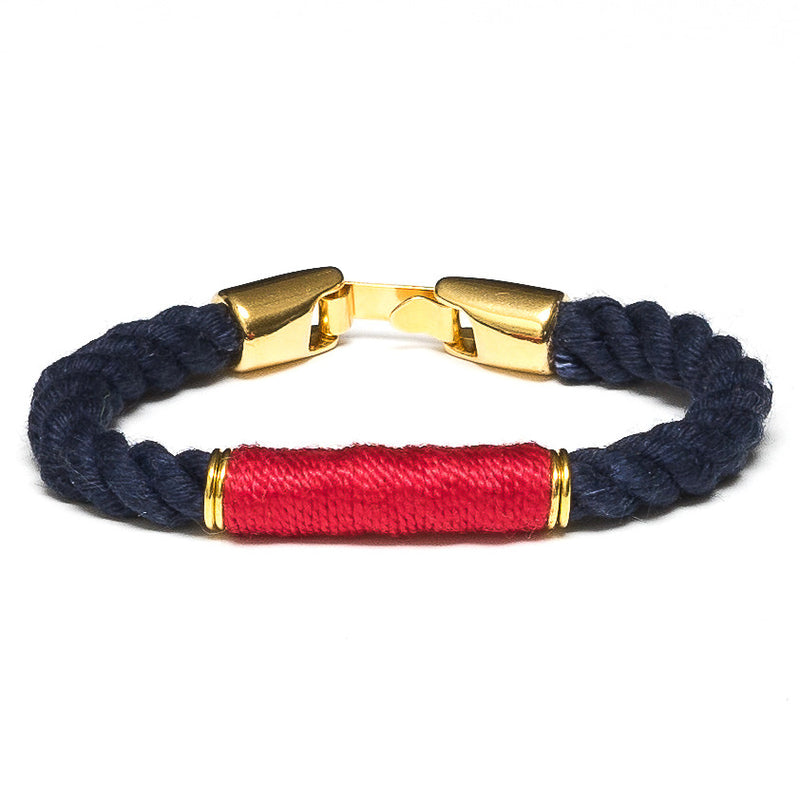 Beacon - Navy/Red/Gold