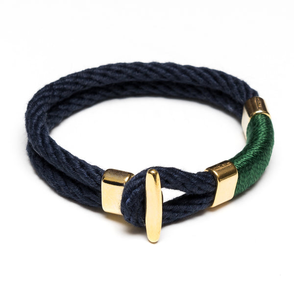 Cambridge - Navy/Green/Gold