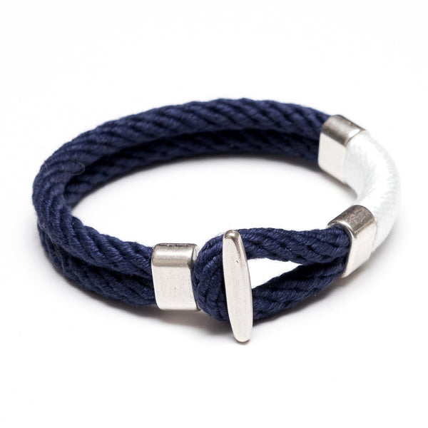 Cambridge - Navy/White/Silver