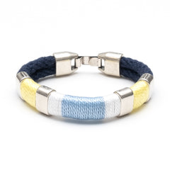 Newbury - Navy/Yellow/White/Blue/Silver