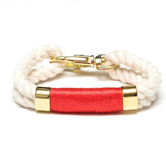 Tremont - Ivory/Coral/Gold