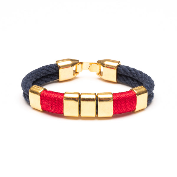 Braddock - Navy/Red/Gold