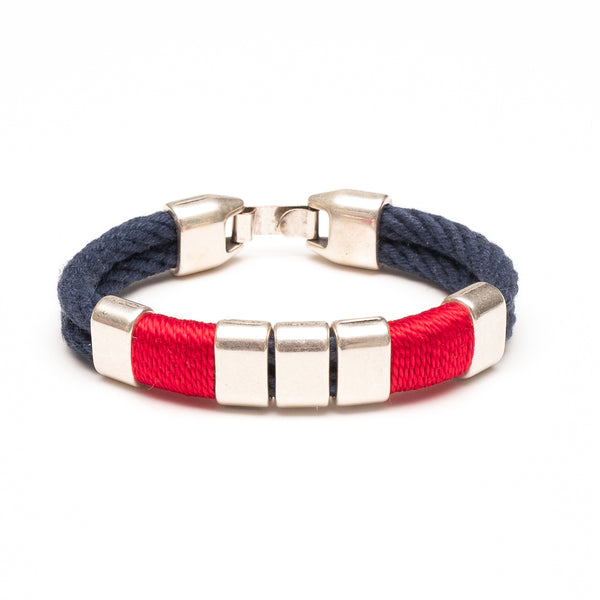 Braddock - Navy/Red/Silver