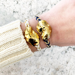 Allison Cole + Sea Dipped Special Edition Oyster Bracelet - Ivory