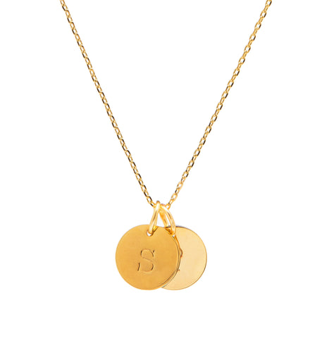 Initial Charm(s) Necklace - Gold
