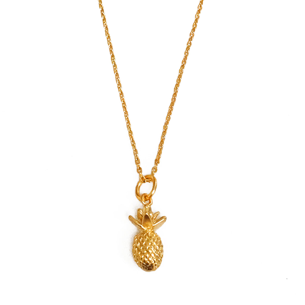 Pineapple Necklace - Gold